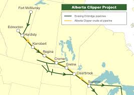 Map Of Fort Mcmurray Alberta Clipper Cross Border Pipelines In Us Court This Week The