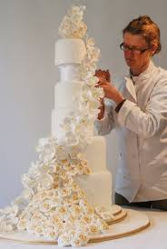 wedding cake makers stunning orchid wedding cake 3 just the two of us 3