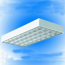 2 X 4 Ceiling Light Texas Shpara 2x4 Surface Parabolic 32 Cell 4 X 28w T5 Single