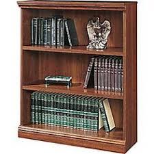 Sauder Premier 5 Shelf Composite Wood Bookcase Sauder Select 5 Shelf Bookcase In Washington Cherry Finish