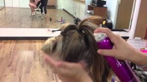 hip hop dance hairstyles for short hair company hair 4 poof mohawk hip hop hair youtube
