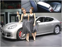 sport cars with girls porsche panamera joins hybrid enfichable scoopcar com automobile