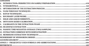 Resume Extraction Extraction For Analytical Scale Sample Preparation Iupac