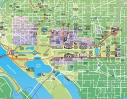 Us Map Washington Dc by Washington Dc Tram Map Maps Of Usa