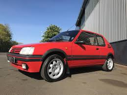 peugeot 205 gti used 1993 peugeot 205 gti for sale in durham pistonheads