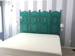 Folding Cing Bed Folding Room Divider Screen Turned King Bed Headboard Need To Get