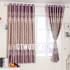 pink sweet plaid blackout balcony curtains