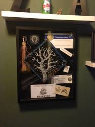 graduation shadow box cap and gown decorating my graduation cap wilker do s