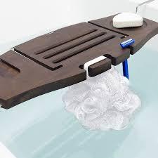 umbra aquala bathtub caddy umbra aquala bathtub caddy walnut flamingo gifts