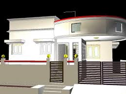 house front elevation models