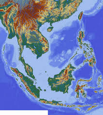 East And Southeast Asia Map by File South East Asia Topographic Map Svg Wikimedia Commons