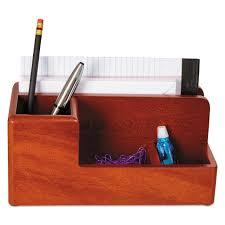 Eldon Desk Accessories by Rolodex Wood Tones Desk Organizer Wood 4 1 4 X 8 3 4 X 4 1 8