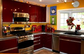 black and red kitchen curtains accessories picturesque images about red black and white kitchen
