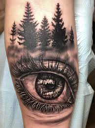realistic eye tattoo by nick d u0027angelo buffalo ny tattoo