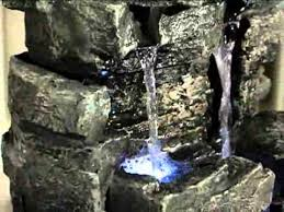 table top water fall rock waterfall indoor outdoor tabletop fountain product review