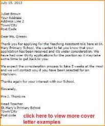 18 primary teacher cover letter application letter leaving