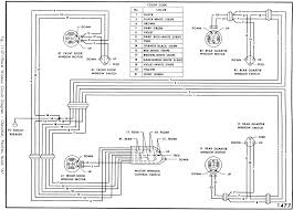 auto power window wiring diagram