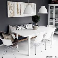 Best  Dining Table Bench Ideas On Pinterest Bench For Kitchen - White kitchen table with bench