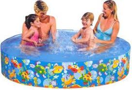 shopaddict kids swimming pool 6 feet intex bath toy kids