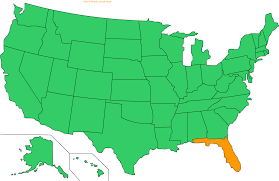 Map Of State Of Florida by Usa Map Usa Map List Of United States Cities By Population Where
