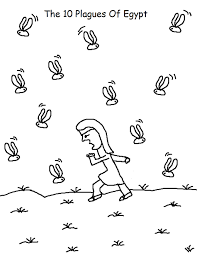 10 plagues ten plagues of egypt coloring pages coloring pages
