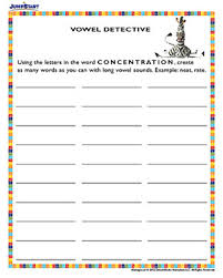 vowel detective 1st grade madagascar reading worksheet u2013 jumpstart