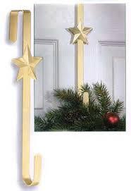 the door gold metal wreath hanger wreaths floral