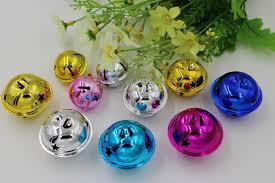 beauty kinds of 40mm mixed color jingle bells fit festival