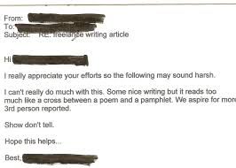 thank you letter for interview template brutally honest job rejection letters business insider an editor offered about the harshest criticism you can give a freelancer freelance journalist rejection letter