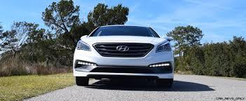 hd road test review 2016 hyundai sonata sport 2 0t drive video