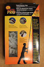 50 no ladder pro rapid release clips for holiday christmas