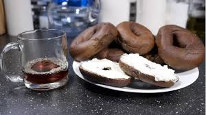 Seeking Bagel This Bagel Is Made Of Coffee Can It Replace Your Morning Cup