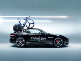 jaguar cars f type jaguar f type r coupe team sky concept support car for stage 20