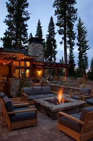 best 25 rustic fire pits ideas on pinterest firepit ideas