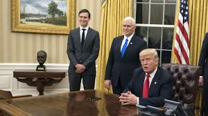 Oval Office Wallpaper by President Trump Has Already Reinstalled The Bust Of Winston