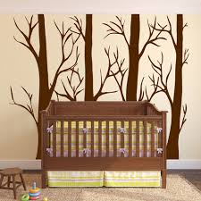 large wall vinyl tree forest decal birch aspen removable 1310