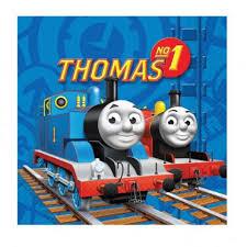 buy thomas tank engine napkins 2ply paper 16 pack