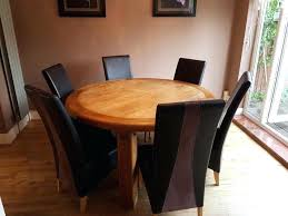 round glass table for 6 glass table with 6 chairs blogdelfreelance com