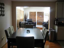 dining room dark brown wooden dining set with long rectangle