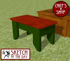 wishing work wood shop stool plans