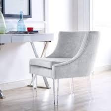 Lucite Rocking Chair Clear Accent Chairs You U0027ll Love Wayfair