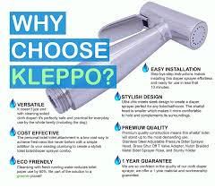 How To Use Bidet Toilet Amazon Com Super Sale Kleppo 5 Cloth Diaper Toilet Sprayer Kit