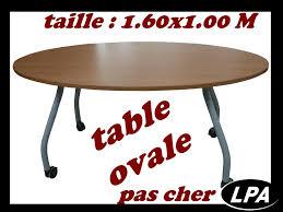 table de bureau pas cher table ovale pas cher table de réunion mobilier de bureau lpa