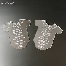 Customized Baby Online Shop Customized Baby Dress Shape Printing 145x145mm Frosted