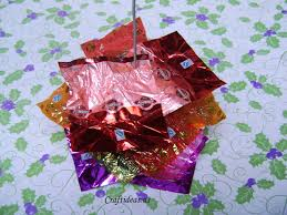 christmas ideas candy wrapping christmas tree craft ideas
