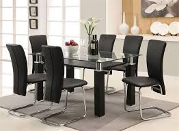 The  Best Black Glass Dining Table Ideas On Pinterest Glass - Contemporary glass dining room tables
