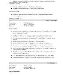 Vmware Resume Examples by Download Vmware Resume Haadyaooverbayresort Com