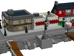 lego ideas new england fishing village