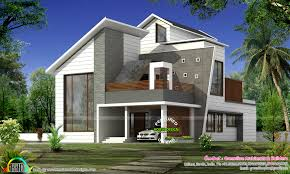 stylish new modern house in 2838 sq ft kerala home design and