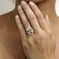 gold and morganite engagement rings morganite 11x9 cushion halo solitaire engagement ring 14k